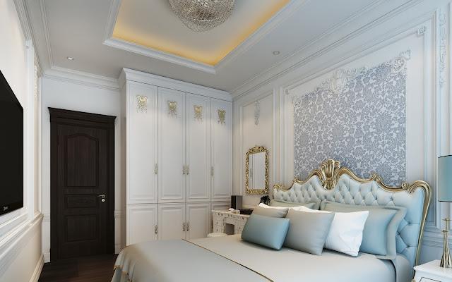 Nội thất phòng ngủ căn hộ Athena Fulland