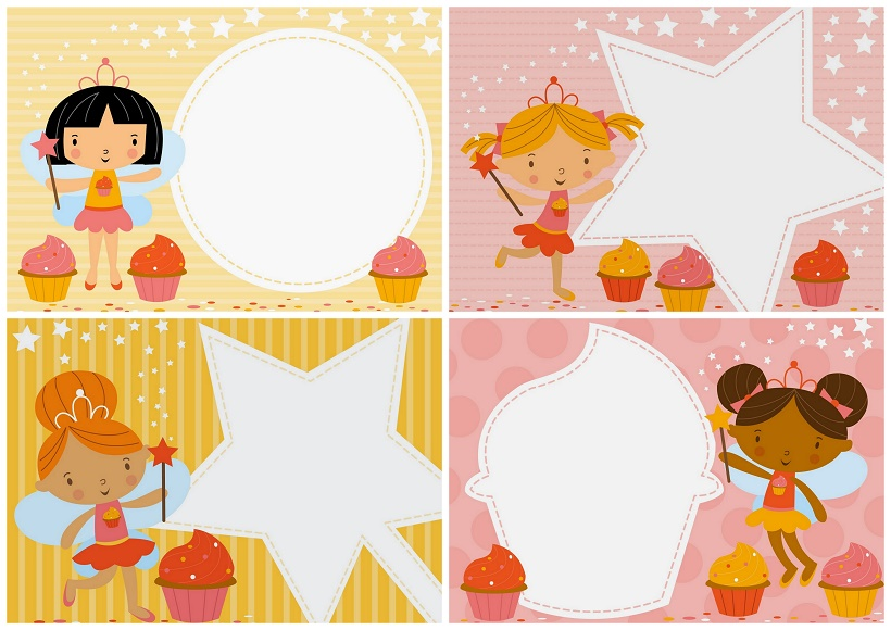 free printable fairy babies party
