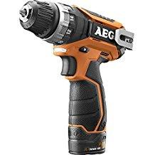 AEG BS12C2 LI-152B 1500RPM Ión de litio Negro, Naranja atornillador inalámbrico - Destornillador (Ión de litio, 1,1 kg)