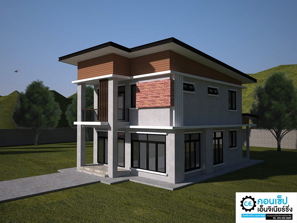 When choosing a new house design for your family, one of the first decision that needs to be made is the choice between a single or two-story house design. With this, you can consider your the personal needs of every member of your family and of course their lifestyle. If you have a spacious home lot, it is easy to decide to have a single-story home. But what if your space is limited? What will you do?  You cannot expand your house sidewards if you don't have enough space for it. This means that the most effective way to maximize your space is to build up or to have a two-story house design. In this type of house, you can create a distinct area and separation between zones. You can have your living room, kitchen and master bedroom downstairs while extra rooms and guest rooms upstairs! Indeed this is a comfortable way of living compared to crumbling into tiny rooms a single-story home can offer. Here are 10 two-story home designs where you can draw inspiration for your home!