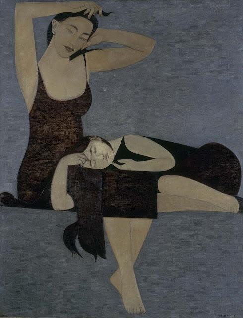 Will Barnet - Niña durmiendo - 1961