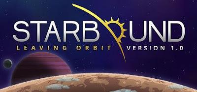 صورة  لتجربة العبة Starbound رحلة بطولية وانقاد العالم في جهاز الحاسوب