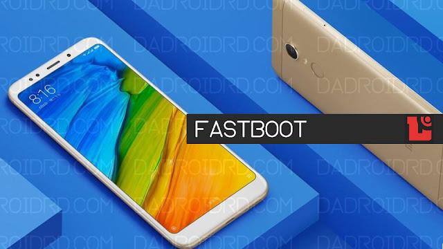 Cara fastboot Xiaomi Redmi 5