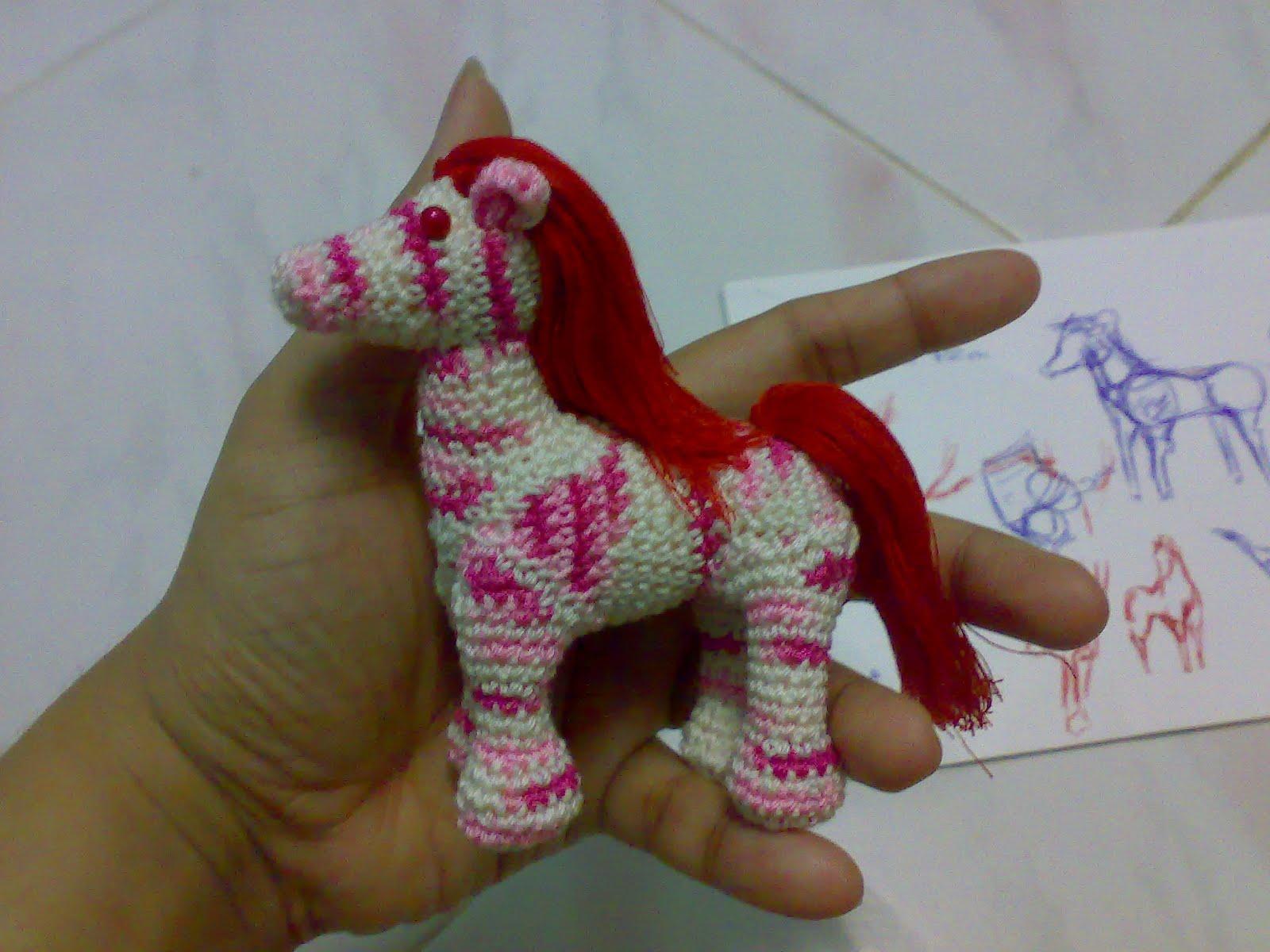 Abby The Horse Amigurumi Pattern | Stuff The Body | 1200x1600