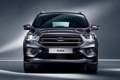 2018 Ford Kuga obtient quelques changements à l'intérieur et à l'extérieur