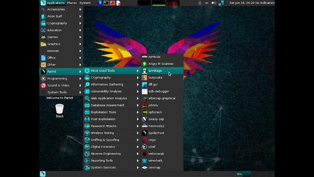 "Distribuição Parrot Security 3.2 ""CyberSloop"" para hackers éticos, já está disponível!"