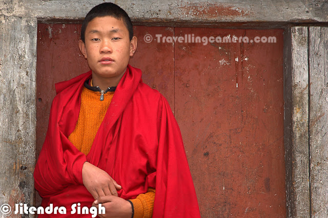 After some great PHOTO JOURNEYs, here is another one by Jitendra Singh from Arunachal Pradesh State of India. This Photo Journey shares some beautiful captures from Tawang showing culture, colors, religion and lot more through stunning visuals.Tawang is a town situated in the north-western part of Arunachal Pradesh of India. The area is claimed by both the People's Republic of China and the Republic of China as a part of South Tibet. The town once served as the district headquarters of West Kameng district and became the district headquarters of Tawang district when it was formed from West Kameng.Tawang Monastery was founded by the Mera Lama Lodre Gyasto in accordance to the wishes of the 5th Dalai Lama, Nagwang Lobsang Gyatso. It belongs to the Gelugpa sect and is the largest Buddhist monastery in India. The name Tawang means Horse Chosen. It is said to be the biggest Buddhist monastery in the world outside of Lhasa, Tibet. It is a major holy site for Tibetan Buddhists as it was the birthplace of the sixth Dalai Lama as well.Tourists to Tawang require special Inner line permits from the government which are available in Kolkata, Guwahati, Tezpur, and New Delhi. Most of the travel from the plains is on a steep hill road journey, crossing Sela Pass. A colorful shot from Tawang Monastery. Tourists can travel to Tawang from Tezpur, Assam, which is 12 hours by road. Tezpur has direct flights from Kolkata. Guwahati, Assam, is 16 hours by road. A daily helicopter service from Guwahati was started by the Arunachal Pradesh government few years backTawang is also base for Parvat Ghatak Commando School, one of Indian Army's elite high altitude warfare training schools. Several domestic and international units have been trained in high altitude special operations at this schooA View of closer view of Tawang Monastery which is huge in size...The 8m tall statue of the Sakyamuni Buddha in the Tawang Monastery.