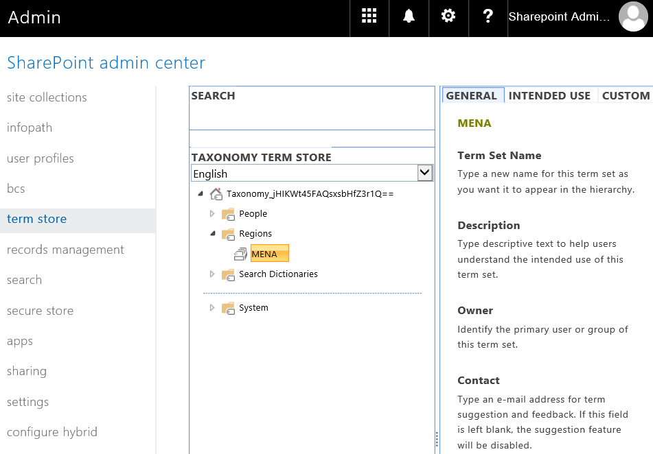 SharePoint Online Create Term Set using PowerShell