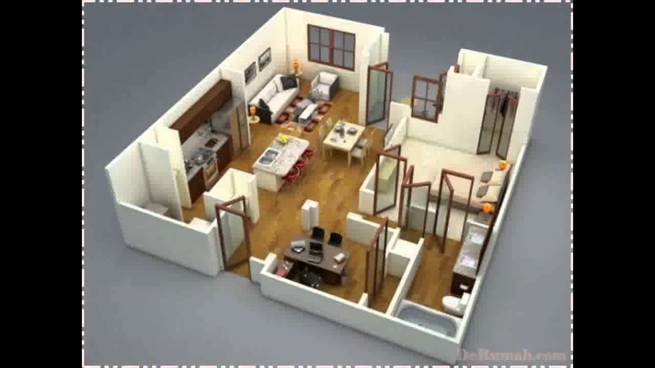 20 Contoh Desain Dan Denah Rumah 4 Kamar 3D BeliRumahMinimalisCom