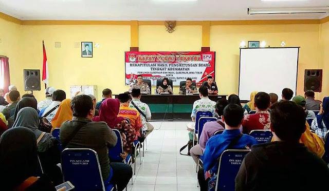 Rapat Pleno Rekapitulasi Hasil Penghitungan Suara Tingkat Kecamatan