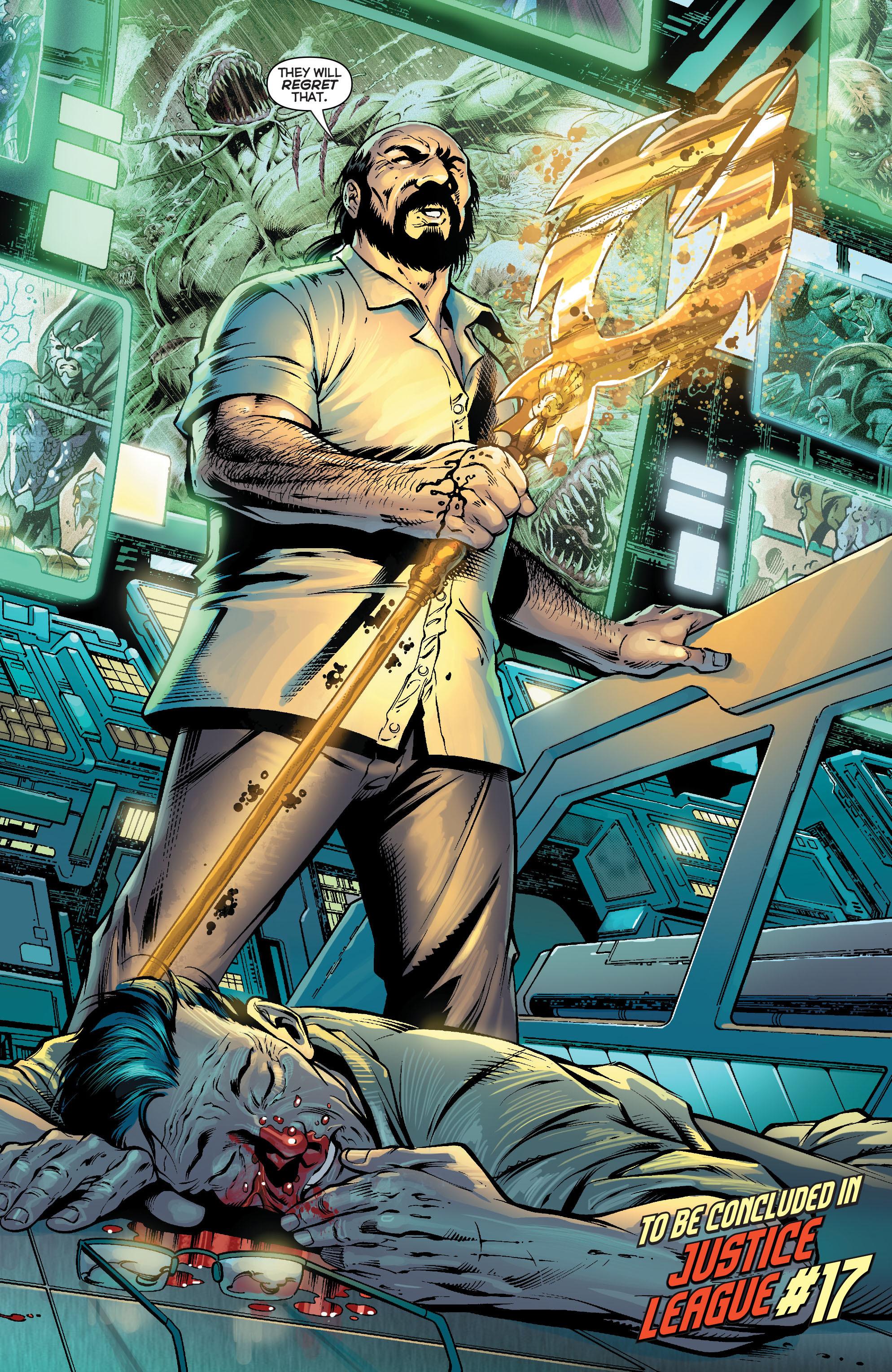 Read online Aquaman (2011) comic -  Issue #16 - 21