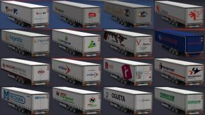 Realistic Company Trailers Pack