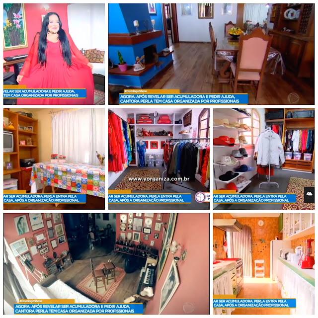 Imagens dos Ambientes organizados na casa de Perla