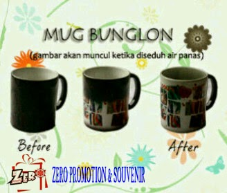 Mug Bunglon/Mug Magic sablon Foto