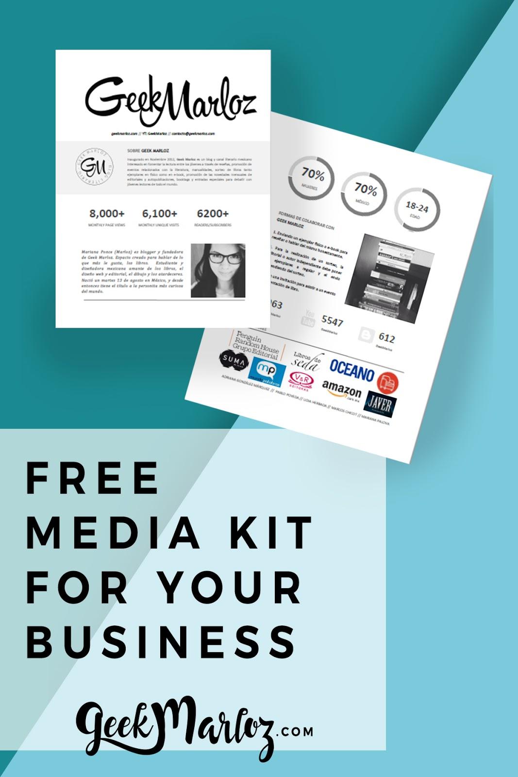 Free Media Kit 2017