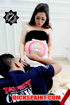 Pregnant Belly Painting Jakarta
