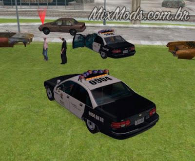 gta sa mod cleo polícia ser policial