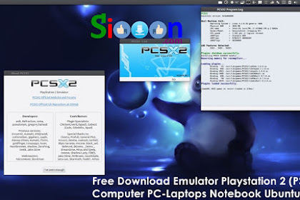 Free Download and Install Emulator Playstation 2 for PC Laptop Ubuntu Linux
