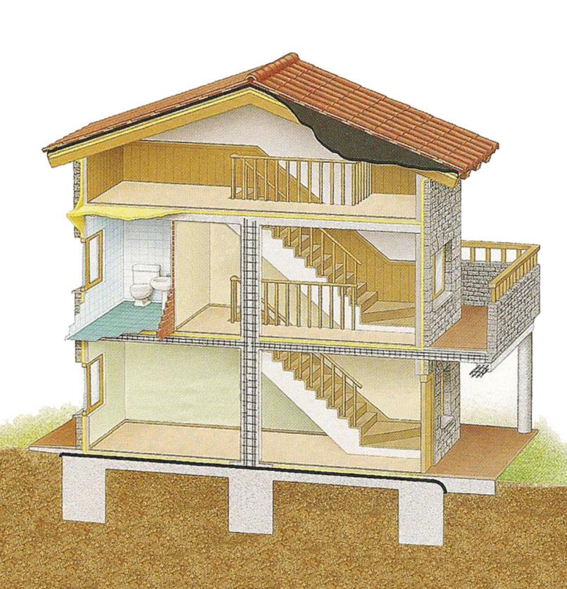 Tecnolog a 3 e s o elementos de un edificio for Estanques artificiales o prefabricados