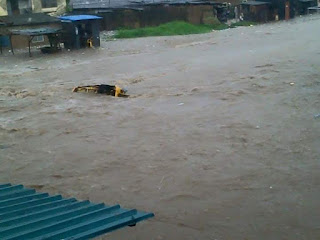 Somewhere in Oko Oba, Agege Happy First Sunday from rain. [Photo]