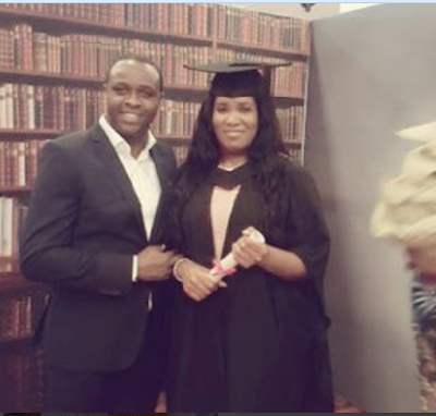 Actor Adebayo Salami's Daughter Graduates From University Of Roehampton, London
