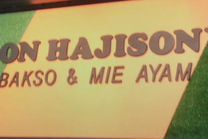 Mingguan di Bakso Son Haji Sony Metro