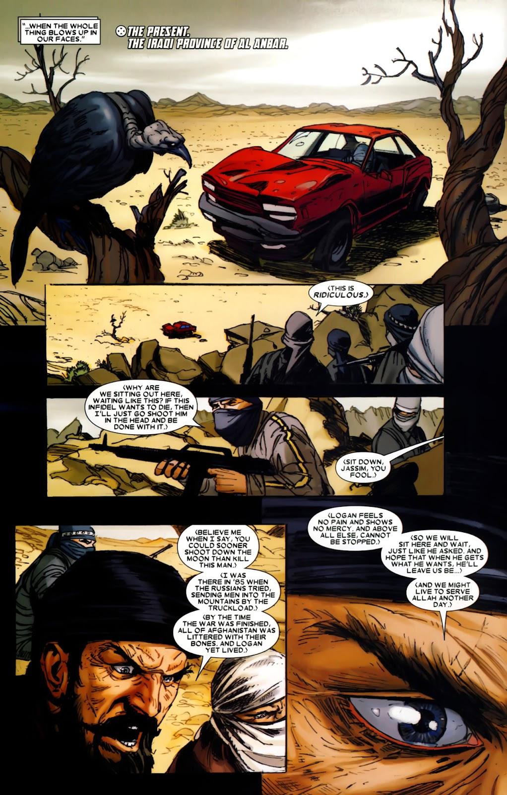 Read online Wolverine (2003) comic -  Issue #64 - 6