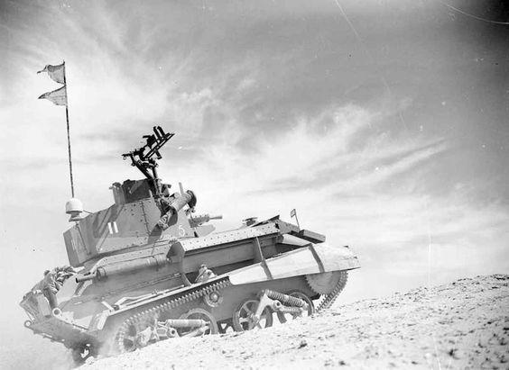 5 June 1940 worldwartwo.filminspector.com Mark VI tank British Egypt