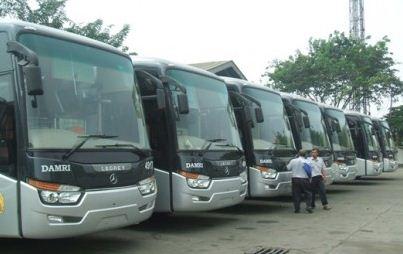 Bus DAMRI dikelola oleh BUMD