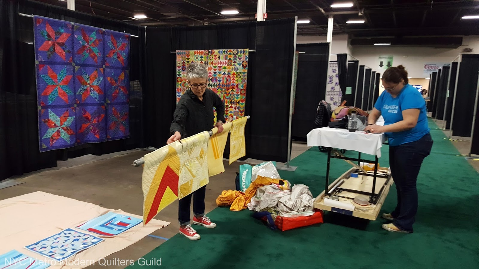 Nyc metro modern quilters guild the quilt sewing fest - Garden state exhibit center somerset nj ...