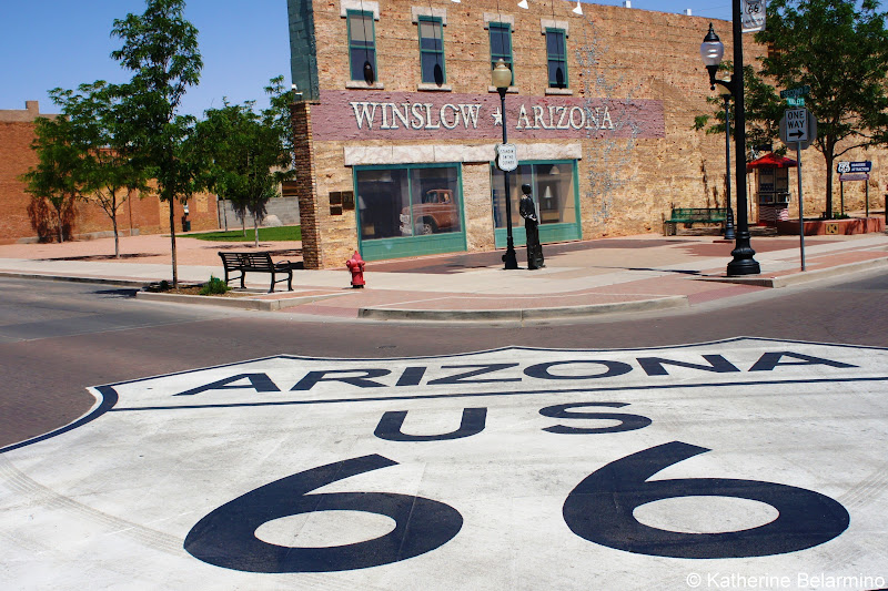 Standin' on the Corner Park Winslow Arizona Route 66 Road Trip Attractions