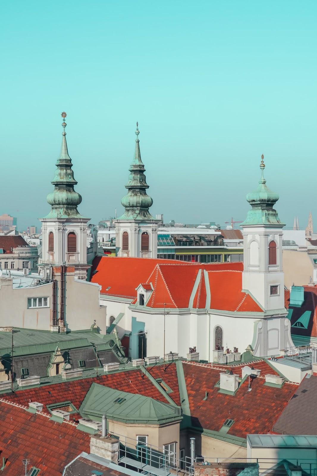 Top tourist locations Vienna