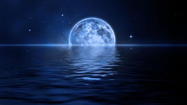 Blue Moon  der Blaue Mond ist ein seltenes Vollmond