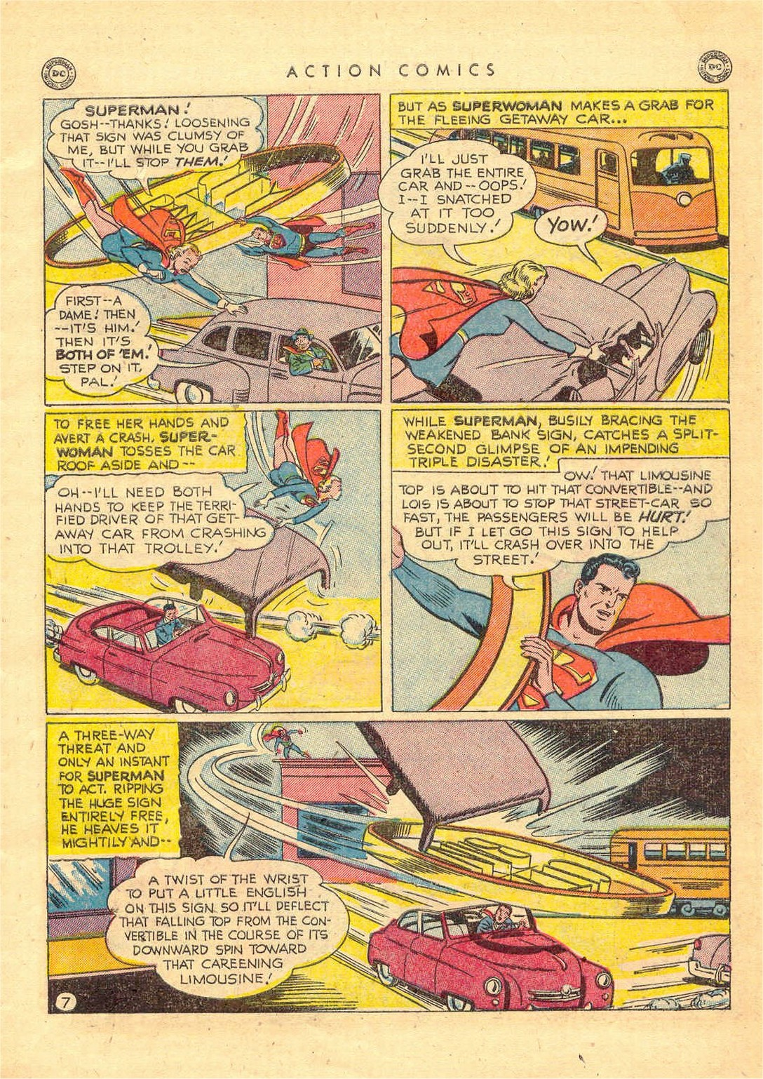 Read online Action Comics (1938) comic -  Issue #156 - 8