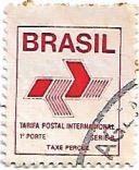 Selo tarifa postal internacional