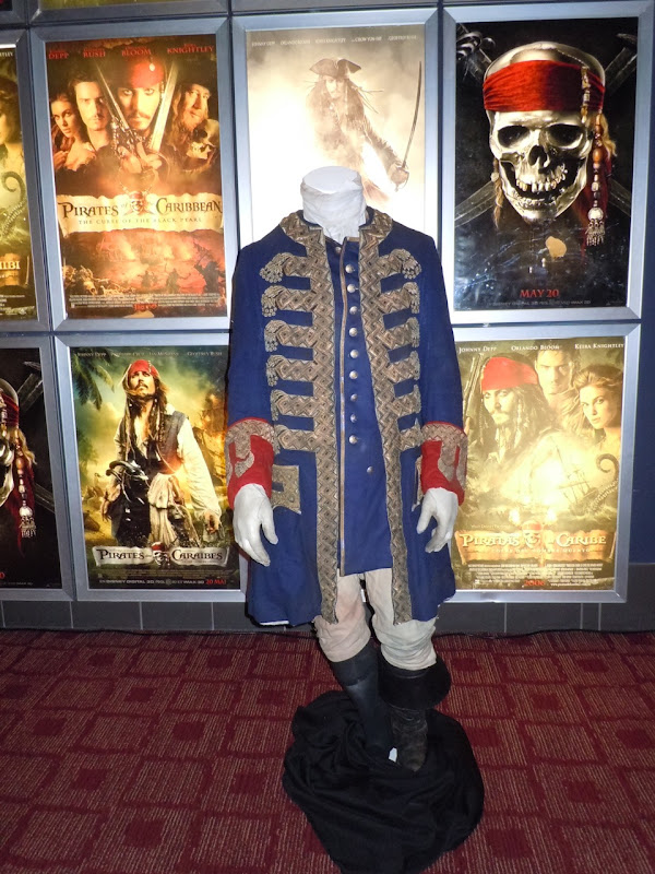 Captain Barbossa costume Pirates of the Caribbean 4