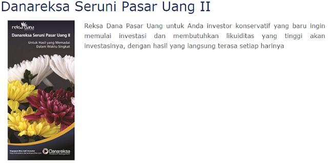 Danareksa Seruni Pasar Uang II