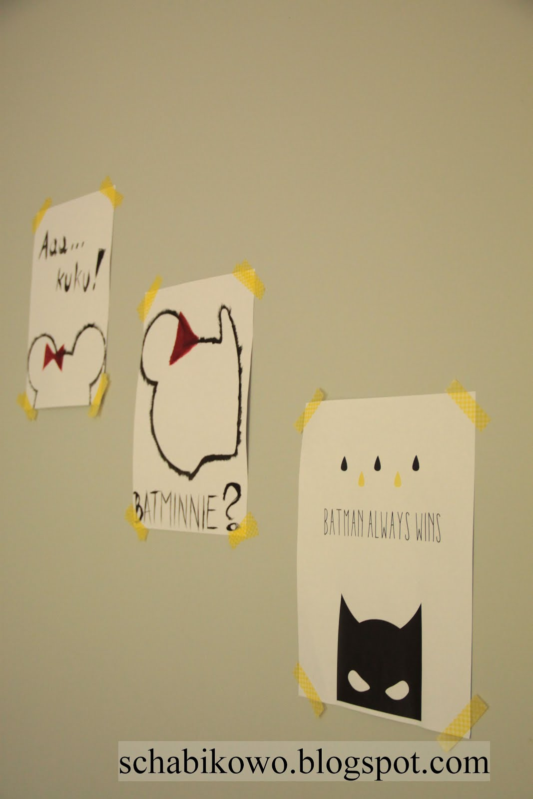 Schabikowo Plakat W Pokoju Dziecięcym