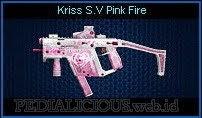 Kriss S.V Pink Fire