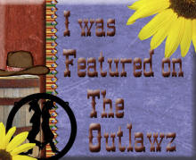 I was featured on the Outlawz 1-2-2012