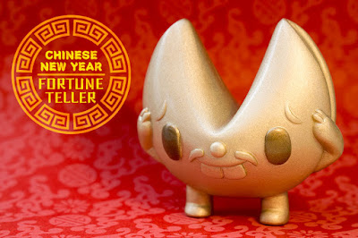Fortune Teller Chinese New Year Edition Resin Figure by Paul Shih