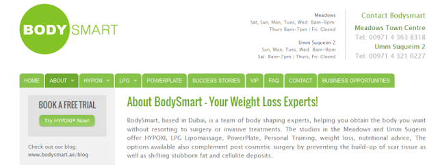 well-known weight loss and slimming center in Dubai