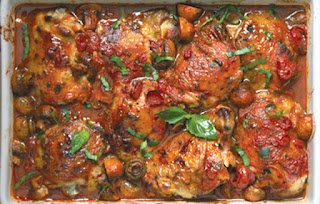 Baked Tomato Chicken