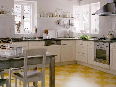 Pilihan Corak Unik Pada Vinnyl Lantai Dapur