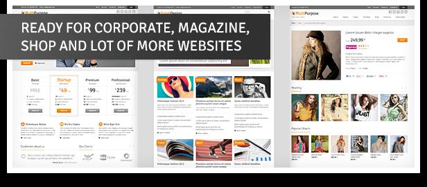 Download Free MultiPurpose - Responsive WordPress Theme