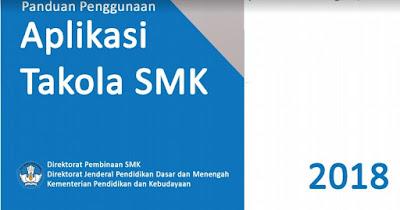 Aplikasi takola SMK 2018 Merupakan Aplikasi Berbasis Web Terintegrasi dengan DAPODIK