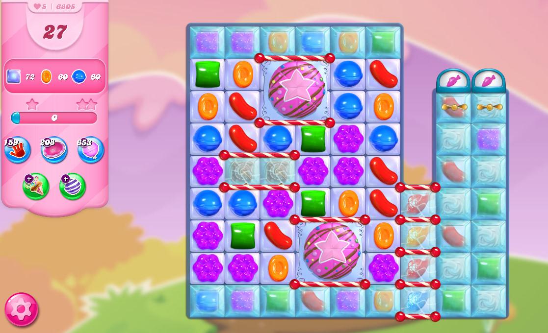 Candy Crush Saga level 6805
