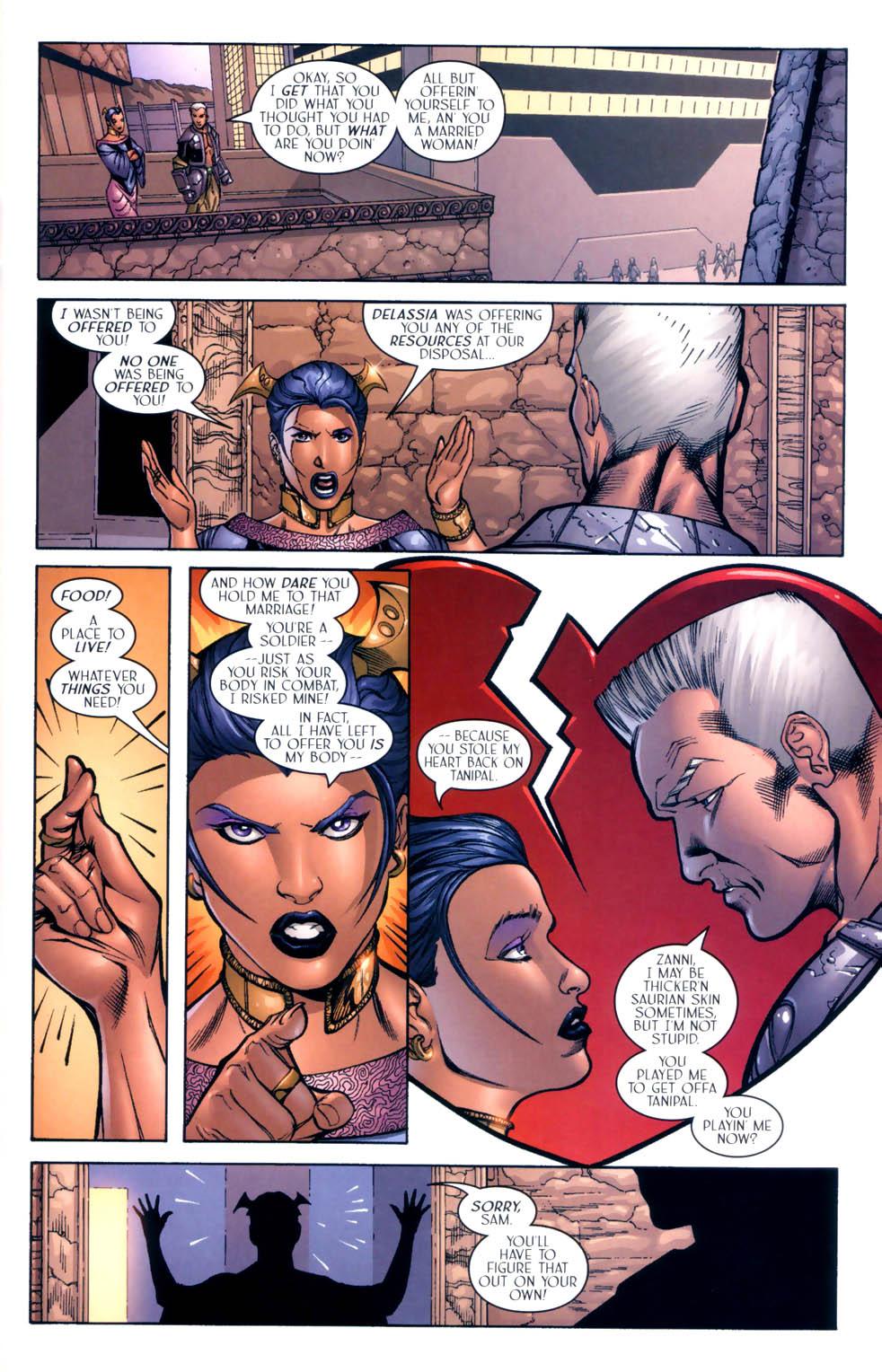 Read online Sigil (2000) comic -  Issue #9 - 7