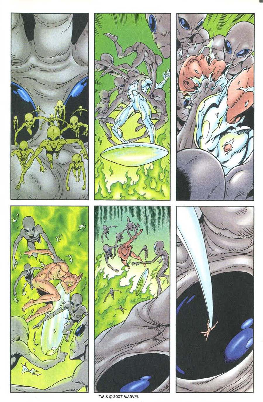 Read online Silver Surfer (1987) comic -  Issue #134 - 31