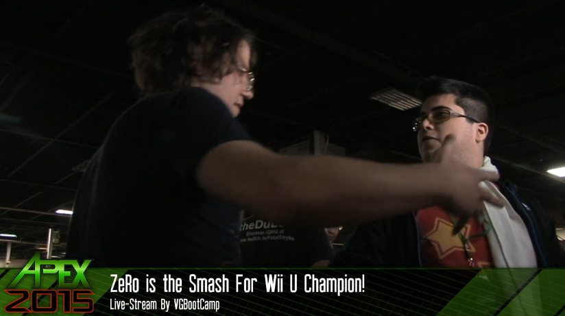 ZeRo is the Smash For Wii U Champion! Apex 2015